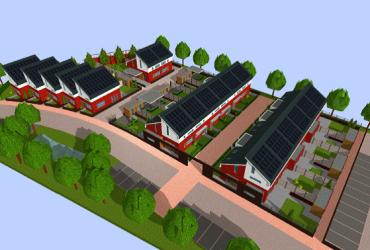 Nieuwbouw 19 starterswoningen Haaksbergen