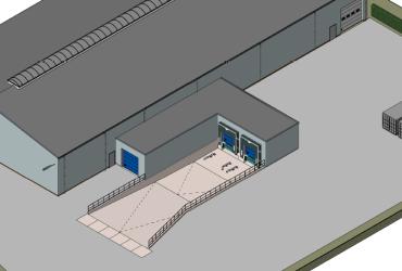 Nieuwbouw laaddock te Delden