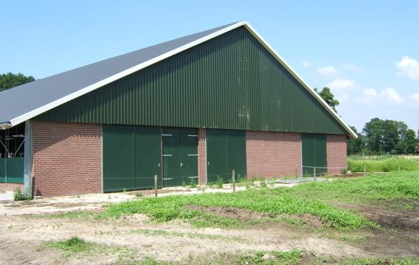 Nieuwbouw stal en voerkeuken Enschede